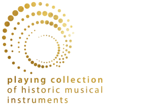 playing collection of historic music instruments