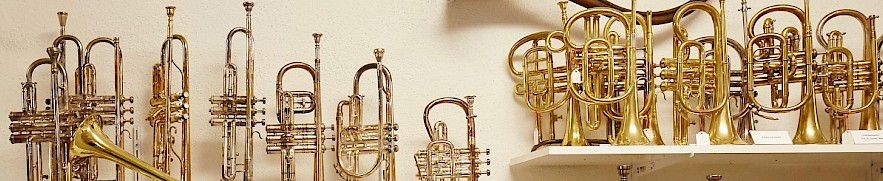 Karl Burri's collection of wind instruments
