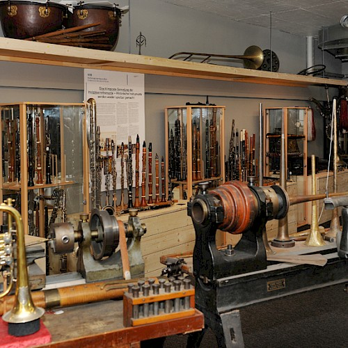 Tools of a manufactory around 1900