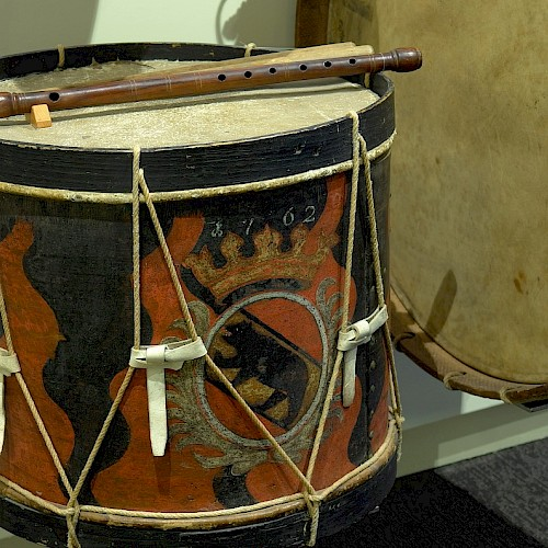 Bernise kettle drum from 1762 (dated)